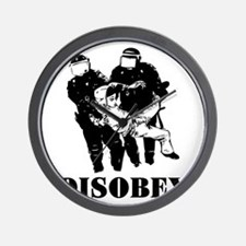 Disobey Authority Wall Clock