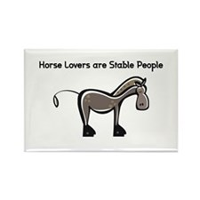 Unique Horse Rectangle Magnet (10 pack)