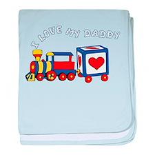 traindad.png baby blanket