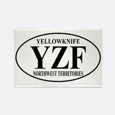 Yellowknife Rectangle Magnet (10 pack)