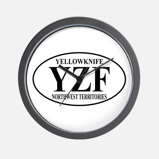 Yellowknife Wall Clock