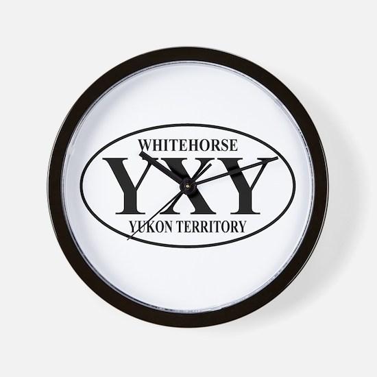 Whitehorse Wall Clock