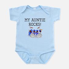 My Auntie Rocks Drums Body Suit