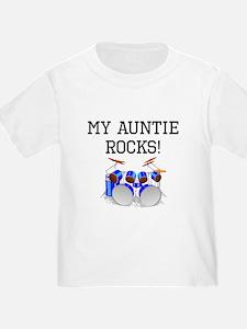 My Auntie Rocks Drums T-Shirt
