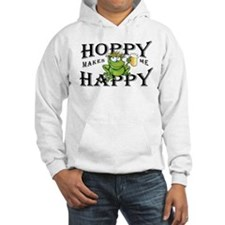 Hoppy Makes Me Happy Beach Frog Hoodie