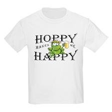 Hoppy Makes Me Happy Beach Frog T-Shirt