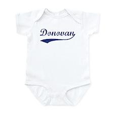 Donovan - vintage (blue) Infant Bodysuit