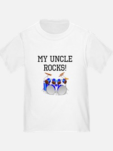 My Uncle Rocks Drums T-Shirt