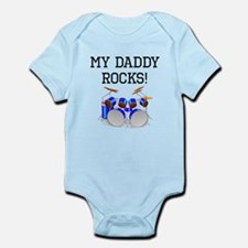My Daddy Rocks Drums Body Suit