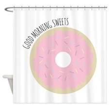 Morning Sweets Shower Curtain