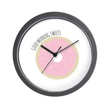 Morning Sweets Wall Clock