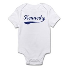 Kennedy - vintage (blue) Infant Bodysuit