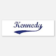 Kennedy - vintage (blue) Bumper Bumper Bumper Sticker