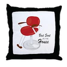 Best Seat Throw Pillow