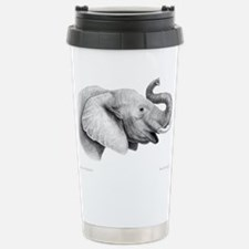 Unique Elephant art Travel Mug