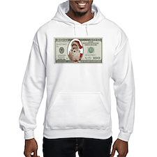 Santa 100 Dollars Hoodie