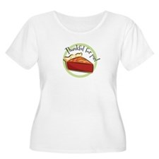 1125-thankfulforpie Plus Size T-Shirt