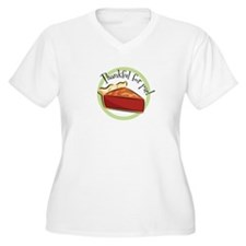 1125-thankfulforpie Plus Size T-Shirt