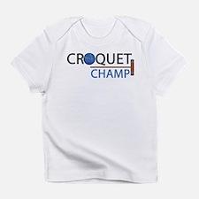 croquet-champ.png Infant T-Shirt