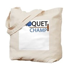 croquet-champ.png Tote Bag