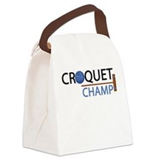 croquet-champ.png Canvas Lunch Bag
