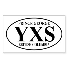 Prince George Rectangle Decal