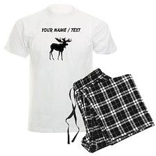 Moose Silhouette (Custom) Pajamas