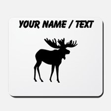 Moose Silhouette (Custom) Mousepad