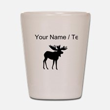 Moose Silhouette (Custom) Shot Glass