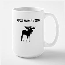 Moose Silhouette (Custom) Mugs