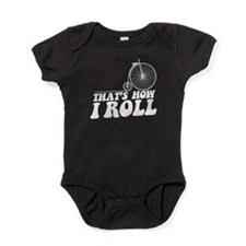 howiroll-pennyB.png Baby Bodysuit