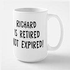 Richard: retired not expired Mugs