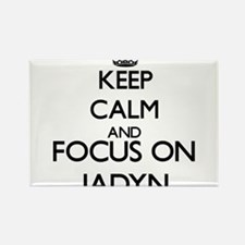 Keep Calm and Focus on Jadyn Magnets