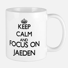 Keep Calm and Focus on Jaeden Mugs