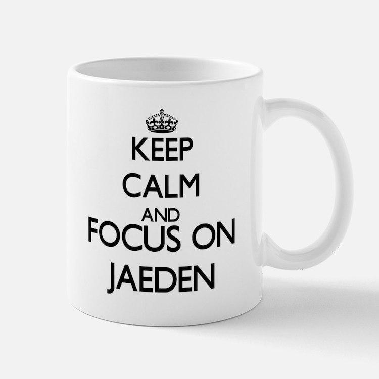 Keep Calm and Focus on Jaeden Mugs