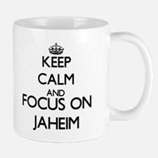 Keep Calm and Focus on Jaheim Mugs