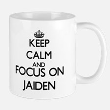 Keep Calm and Focus on Jaiden Mugs