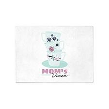 Moms Diner 5'x7'Area Rug