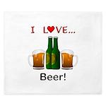I Love Beer King Duvet