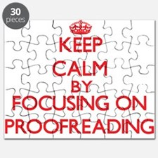 Keep Calm by focusing on Proofreading Puzzle