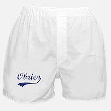Obrien - vintage (blue) Boxer Shorts