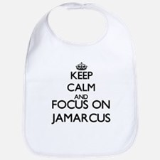 Keep Calm and Focus on Jamarcus Bib
