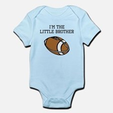 Im The Little Brother Football Body Suit