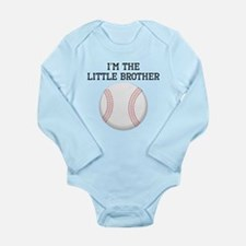 Im The Little Brother Baseball Body Suit