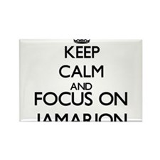Keep Calm and Focus on Jamarion Magnets