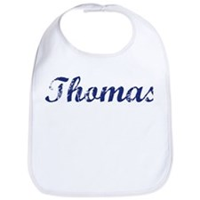 Thomas - vintage (blue) Bib