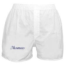 Thomas - vintage (blue) Boxer Shorts