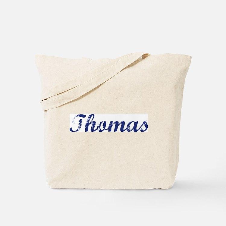 Thomas - vintage (blue) Tote Bag