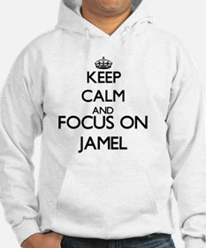 Keep Calm and Focus on Jamel Hoodie