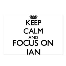 Keep Calm and Focus on Ja Postcards (Package of 8)